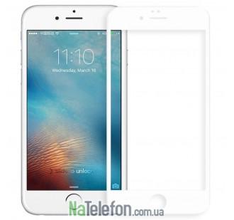 Защитное стекло для APPLE iPhone 6 (0.3 мм, 4D/5D белое)
