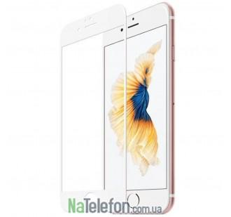 Защитная пленка Стекло iPhone 6 3D White