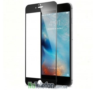 Защитное стекло TigerGlass для APPLE iPhone 6 (0.3 мм, 3D чёрное)