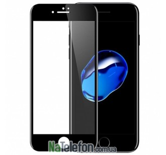 Защитное стекло для APPLE iPhone 6 (0.3 мм, 4D/5D чёрное)