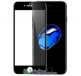 Защитное стекло для APPLE iPhone 7/8 Plus (0.3 мм, 4D/5D чёрное)