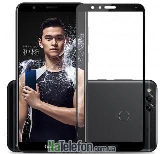 Защитное стекло для HUAWEI Honor 7X (0.3 мм, 2.5D, с чёрным Silk Screen покрытием)
