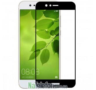 Защитное стекло для HUAWEI Nova 2 (0.3 мм, 2.5D, с чёрным Silk Screen покрытием)