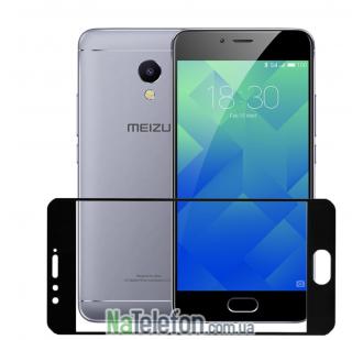 Защитное стекло HONOR 3D Glass 9H для Meizu M5s Black