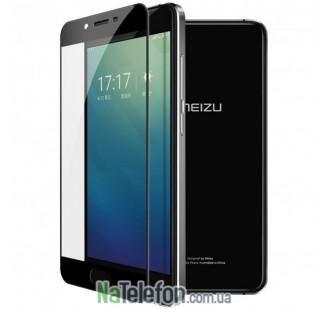 Защитное стекло для MEIZU U10 (0.3 мм, 2.5D, с чёрным Silk Screen покрытием)