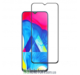 Защитное стекло для SAMSUNG A105 Galaxy A10 2019 (0.3 мм, 2.5D, с чёрным Silk Screen покрытием) FULL GLUE