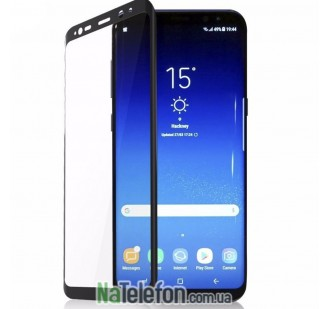 Защитное стекло TigerGlass для SAMSUNG G965 Galaxy S9 Plus Full Glue (0.3 мм, 5D, чёрное)