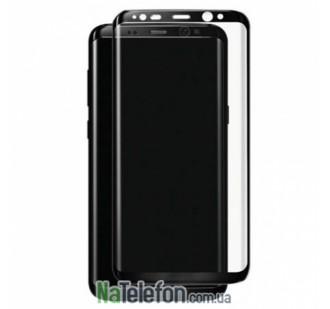 Защитное стекло TigerGlass для SAMSUNG G955 Galaxy S8 Plus Full Glue (0.3 мм, 5D, чёрное)