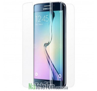 Бронированная полиуретановая пленка BestSuit (на обе стороны) для Samsung G925F Galaxy S6 Edge (Прозрачная)