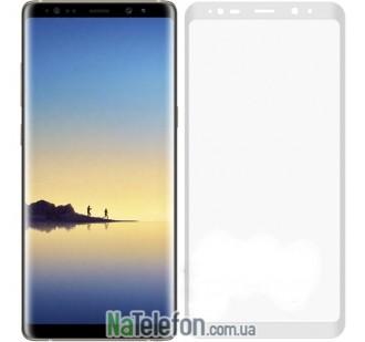 Защитное стекло для SAMSUNG N950 Galaxy Note 8 (0.3 мм, 3D New Design белое)