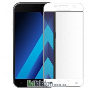 Защитное стекло для SAMSUNG A320 Galaxy A3 (2017) (0.3 мм, 2.5D, с белым Silk Screen покрытием)