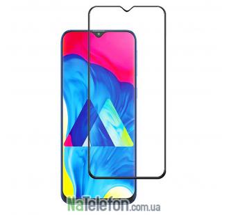 Защитное стекло для SAMSUNG A305 Galaxy A30 2019 (0.3 мм, 2.5D, с чёрным Silk Screen покрытием) FULL GLUE
