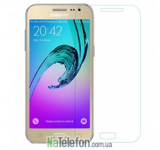 Защитное стекло для SAMSUNG J200 Galaxy J2 Duos (0.3 мм, 2.5D)