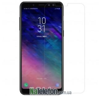 Защитное стекло для SAMSUNG A730 Galaxy A8 Plus (2018) (0.3 мм, 2.5D)
