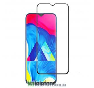 Защитное стекло для SAMSUNG M105 Galaxy M10 (2019) (0.3 мм, 2.5D, с чёрным Silk Screen покрытием) FULL GLUE