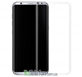 Защитное стекло для SAMSUNG G955 Galaxy S8 Plus (0.3 мм, 3D золотистое)