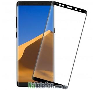 Защитное стекло для SAMSUNG N950 Galaxy Note 8 (0.3 мм, 3D New Design чёрное)