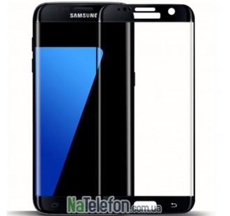 Защитное стекло для SAMSUNG G928 Galaxy S6 Edge + (0.3 мм, 3D чёрное)