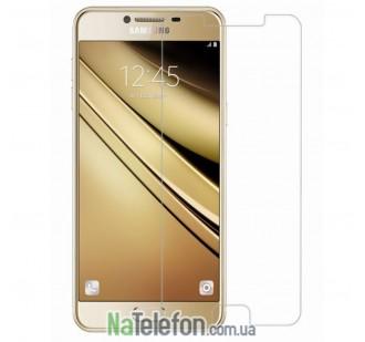 Защитное стекло для Samsung C5 (0.3 мм, 2.5D)
