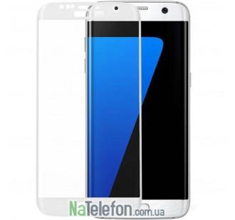 Защитное стекло для SAMSUNG G930 Galaxy S7 (0.3 мм, 3D белое)