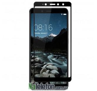 Защитное стекло для XIAOMI Redmi S2 (0.3 мм, 2.5D, с чёрным Silk Screen покрытием)