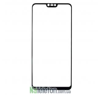 Защитное стекло для XIAOMI Redmi Note 6 (0.3 мм, 2.5D, с чёрным Silk Screen покрытием)