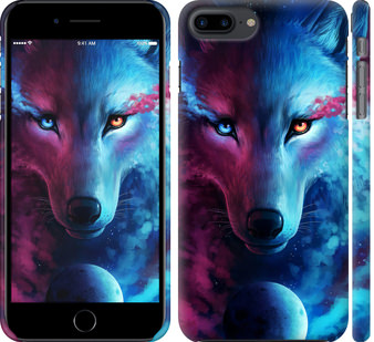 Чехол на iPhone 8 Plus Арт-волк