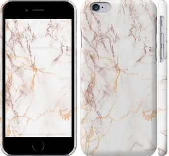 Чехол на iPhone 6 Белый мрамор