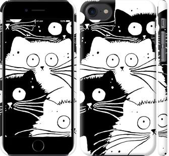 Чехол на iPhone 8 Коты v2
