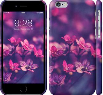 Чехол на iPhone 6s Пурпурные цветы
