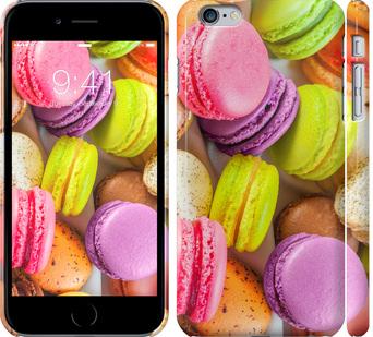 Чехол на iPhone 6s Plus Макаруны