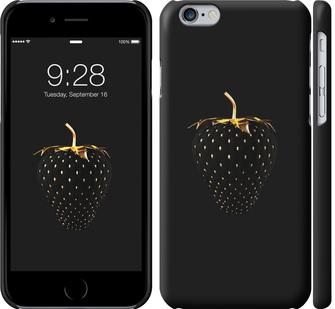 Чехол на iPhone 6s Черная клубника