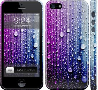 Чехол на iPhone 5 Капли воды