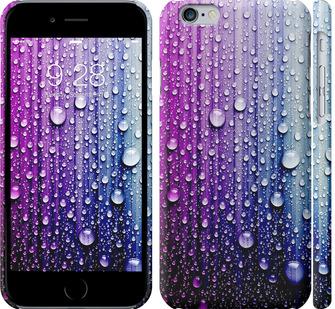 Чехол на iPhone 6s Капли воды