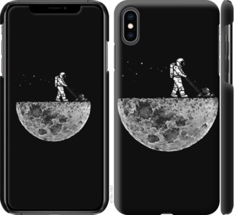 Чехол на iPhone XS Max Moon in dark