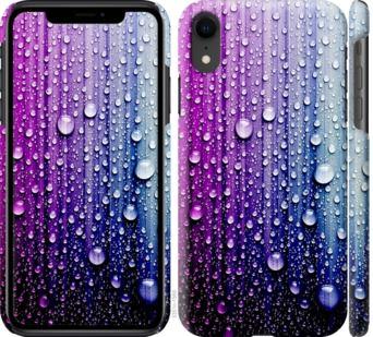 Чехол на iPhone XR Капли воды