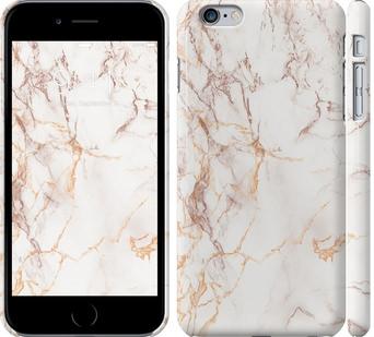 Чехол на iPhone 6s Plus Белый мрамор