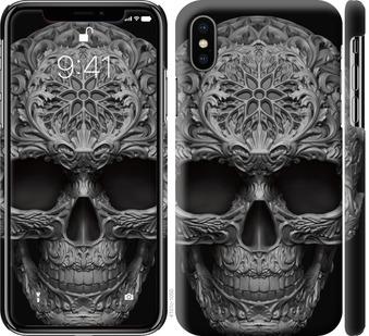 Чехол на iPhone XS skull-ornament