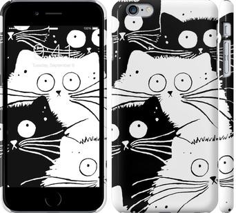 Чехол на iPhone 6 Plus Коты v2