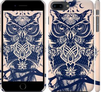 Чехол на iPhone 8 Plus Узорчатая сова