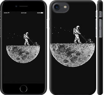 Чехол на iPhone 7 Moon in dark