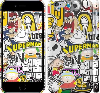 Чехол на iPhone 6 Popular logos