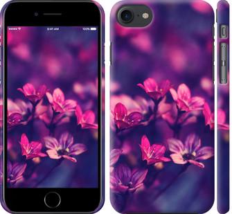 Чехол на iPhone 8 Пурпурные цветы