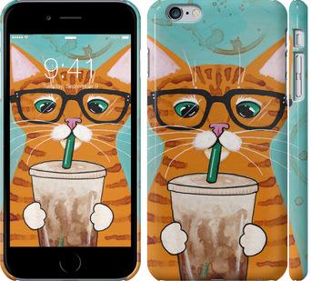 Чехол на iPhone 6 Plus Зеленоглазый кот в очках