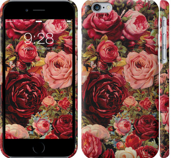 Чехол на iPhone 6s Цветущие розы