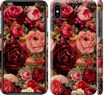 Чехол на iPhone XS Max Цветущие розы