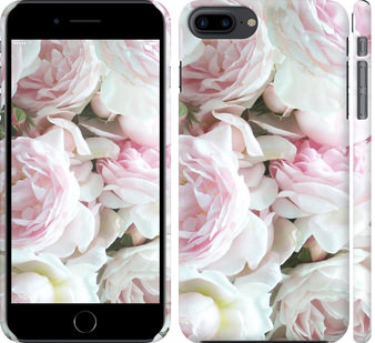 Чехол на iPhone 8 Plus Пионы v2