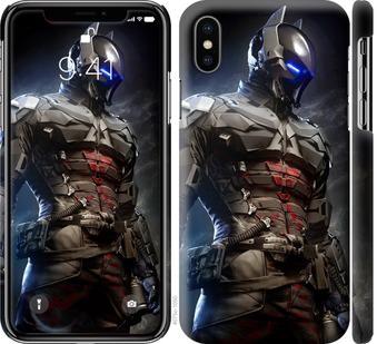 Чехол на iPhone X Рыцарь