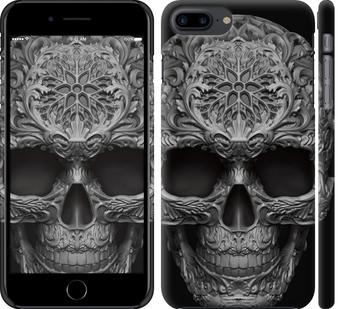 Чехол на iPhone 8 Plus skull-ornament