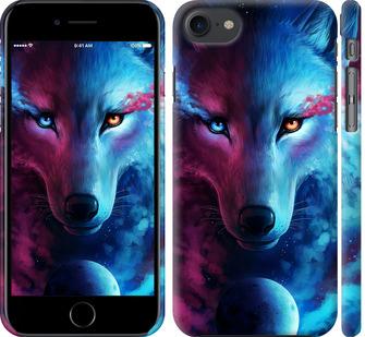 Чехол на iPhone 7 Арт-волк
